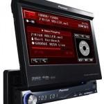 DVD Pioneer Retrátil com sinal de TV grátis e touchscreen.