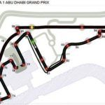 Foto do autódromo do GP de Abu Dhabi