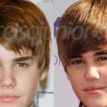 Fotos de Juatin Bieber ANTES e DEPOIS.