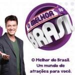 Rodrigo Faro apresenta o programa O Melhor do Brasil.